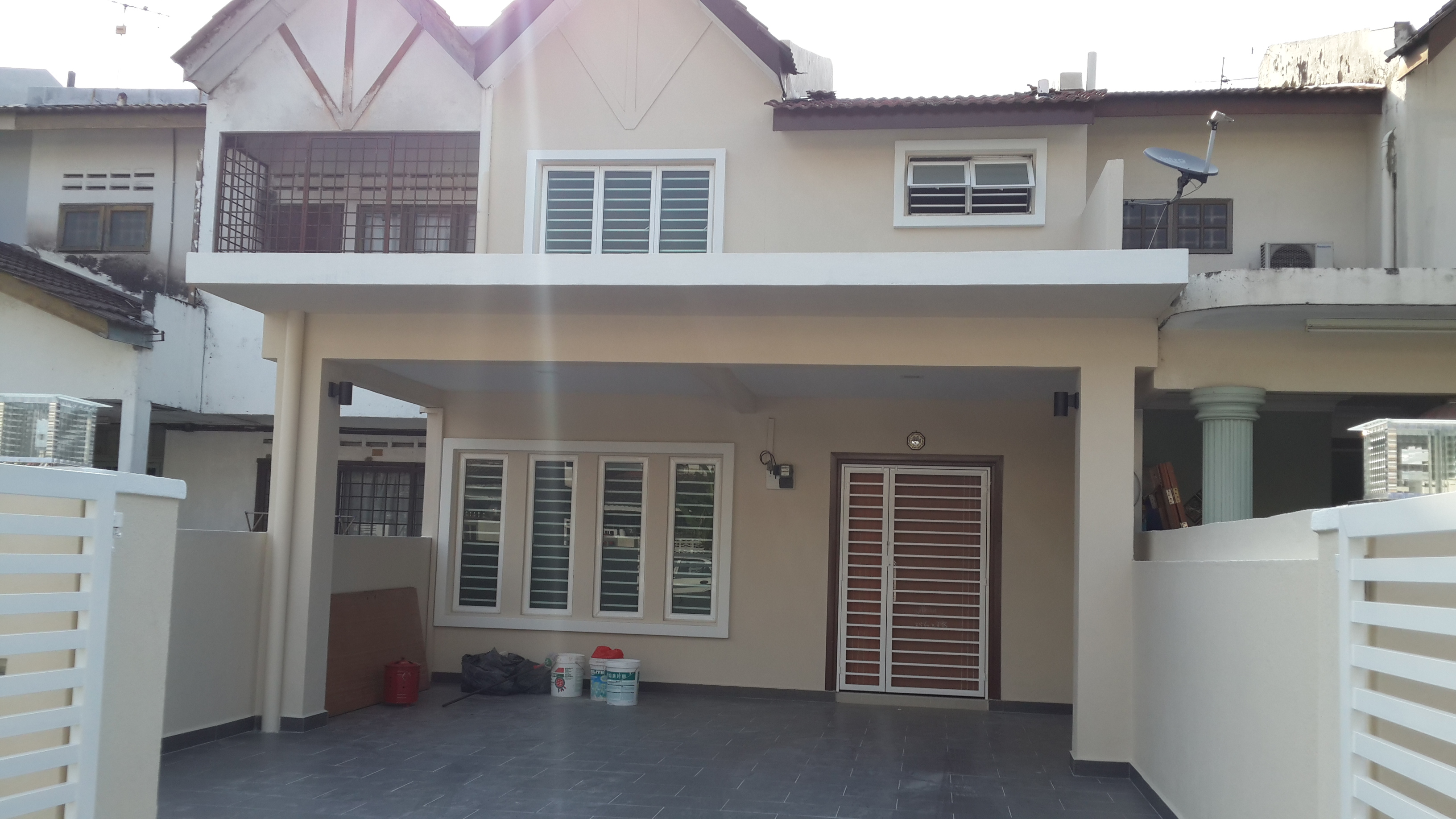 double storey house renovation