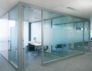 office partition - aluminium frame