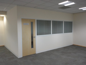 office partition board