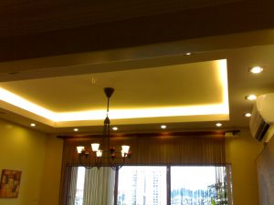 Plaster ceilings