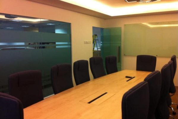 office renovation meeting room